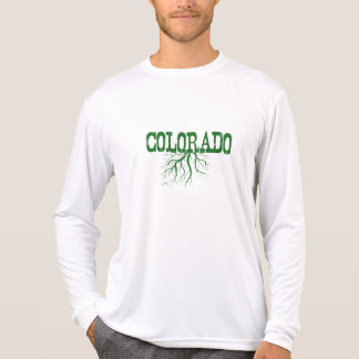 Colorado Roots Green Word Art T-Shirt