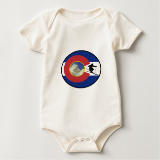 COLORADO SKI TIME BABY BODYSUIT