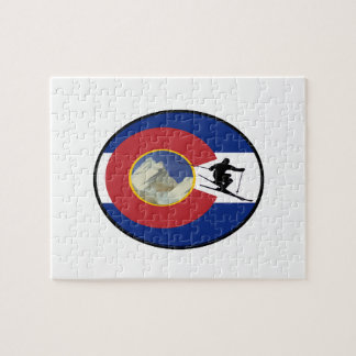 COLORADO SKI TIME JIGSAW PUZZLE