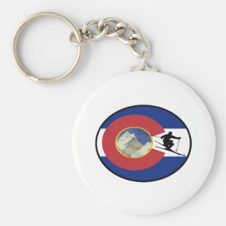 COLORADO SKI TIME KEYCHAIN