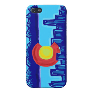 Colorado skyline iphone case