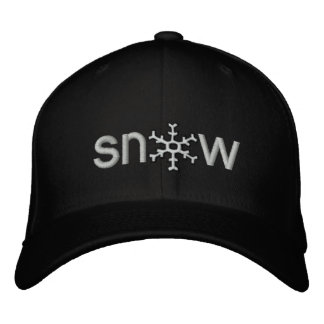 Colorado Snow Embroidered Hat