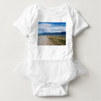 Colorado Snow Mountais Baby Bodysuit