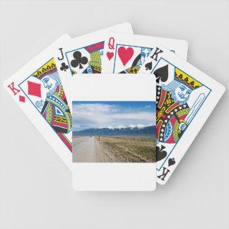 Colorado Snow Mountais Bicycle Playing Cards