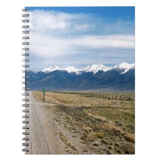 Colorado Snow Mountais Notebooks