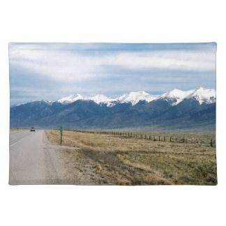 Colorado Snow Mountais Placemat