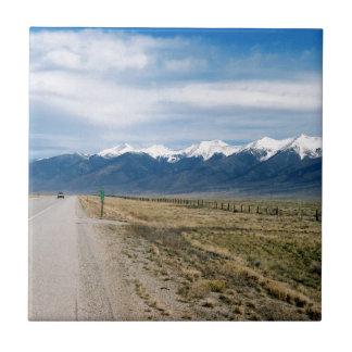 Colorado Snow Mountais Tile