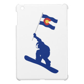 Colorado Snowboard Flag iPad Mini Cover