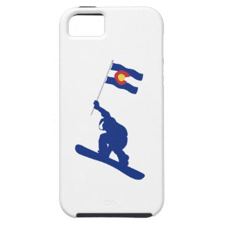 Colorado Snowboard Flag iPhone 5 Case
