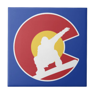 Colorado Snowboard Tile