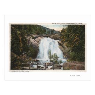 Colorado Springs, CO - Helen Hunt Falls Postcard