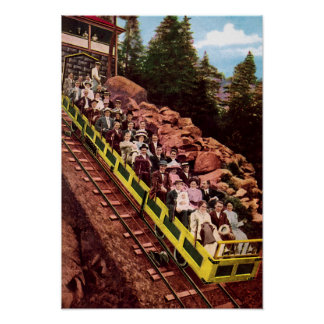 Colorado Springs Colorado Mt Manitou Incline Poster