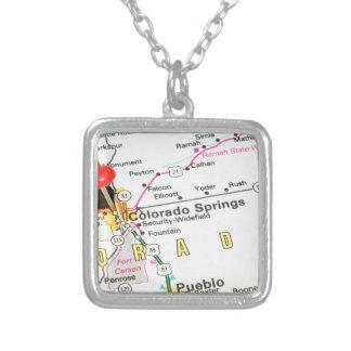 Colorado Springs Silver Plated Necklace