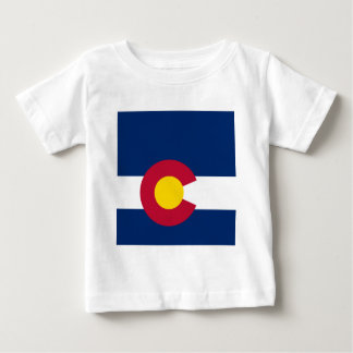 Colorado State Flag Baby T-Shirt