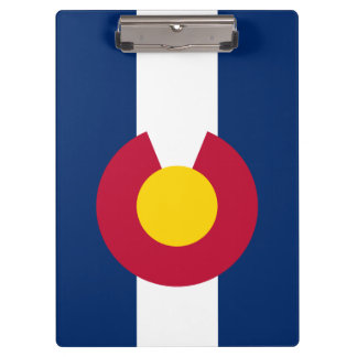 Colorado State Flag Clipboard