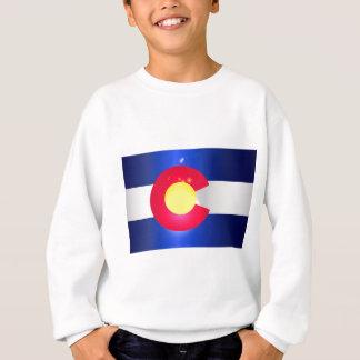 Colorado State Flag Glow Sweatshirt