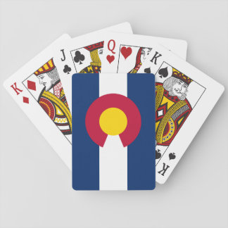Colorado State Flag Playing Cards