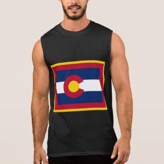 COLORADO STATE FLAG SLEEVELESS SHIRT