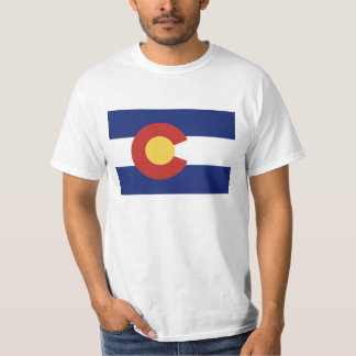 Colorado state flag t shirts