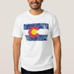 Colorado State Flag Vintage T Shirts
