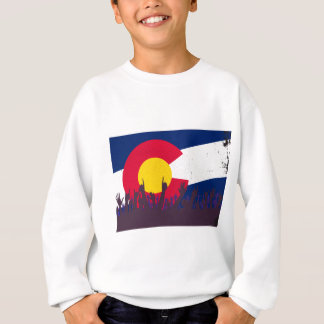 Colorado State Flag with Audience Sweatshirt