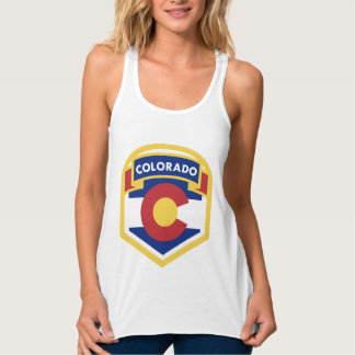 COLORADO STATE FLAG zazzle Tank Top