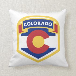 COLORADO STATE FLAG zazzle Throw Pillow