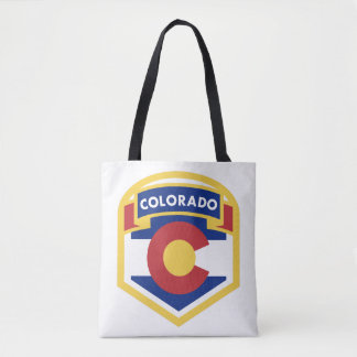 COLORADO STATE FLAG zazzle Tote Bag