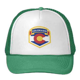 COLORADO STATE FLAG zazzle Trucker Hat