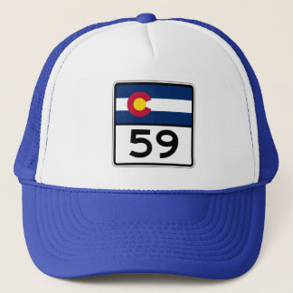 Colorado State Route 59 Trucker Hat