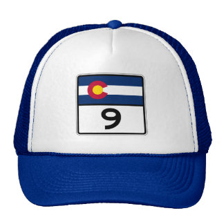 Colorado State Route 9 Trucker Hat