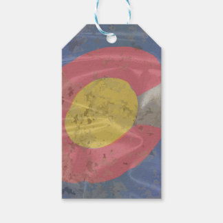 Colorado State Silk Flag Gift Tags