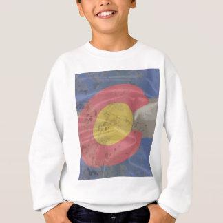 Colorado State Silk Flag Sweatshirt