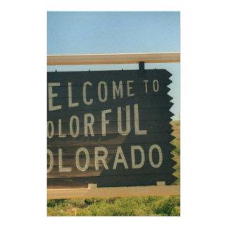 Colorado Stationery