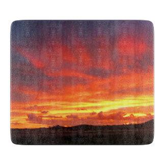 Colorado Sunset Cutting Board