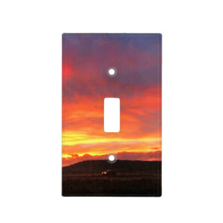 Colorado Sunset Light Switch Cover