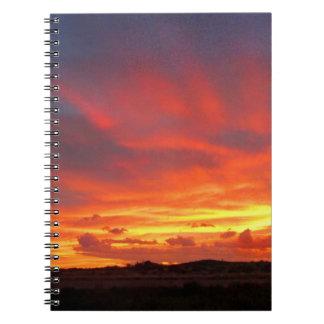 Colorado Sunset Notebook