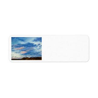 Colorado Sunset Oil Landscape Painting