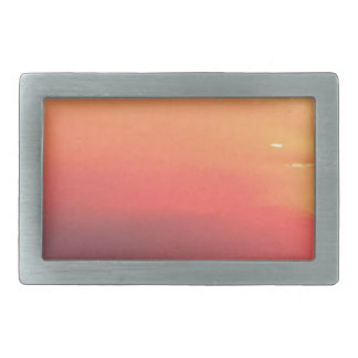 Colorado Sunset Rectangular Belt Buckles