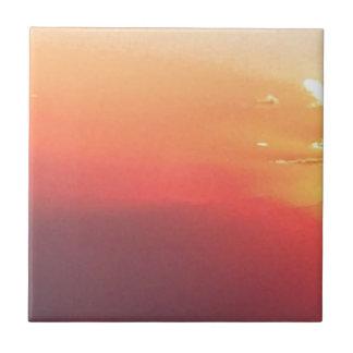 Colorado Sunset Tile