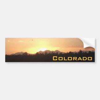 Colorado Sunsets Bumper Sticker 1