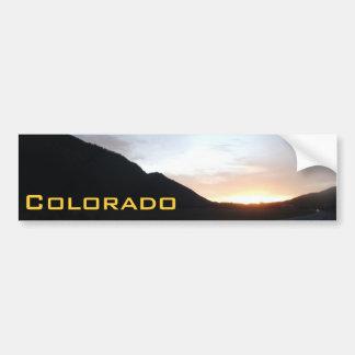 Colorado Sunsets Bumper Sticker 7