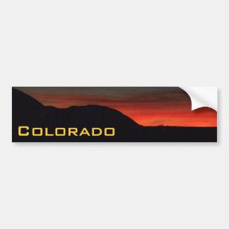Colorado Sunsets Bumper Sticker MH4