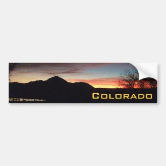 Colorado Sunsets Bumper Sticker MH5
