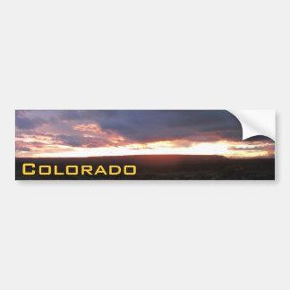 Colorado Sunsets Bumper Sticker MH8