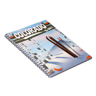 Colorado To Ski! Notebooks