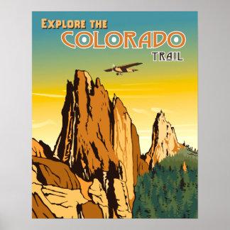 Colorado Trail Poster