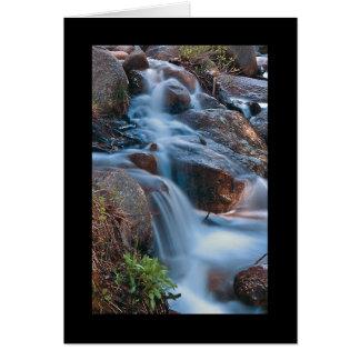 Colorado Waterfall 2 Card