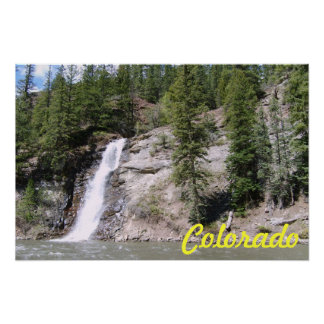 Colorado Waterfall Posters