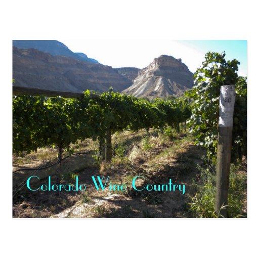 Colorado Wine Country Postcards